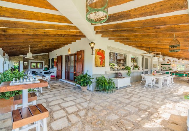 Villa in Pollensa / Pollença - VILLA LA ROTA DEN MORELL